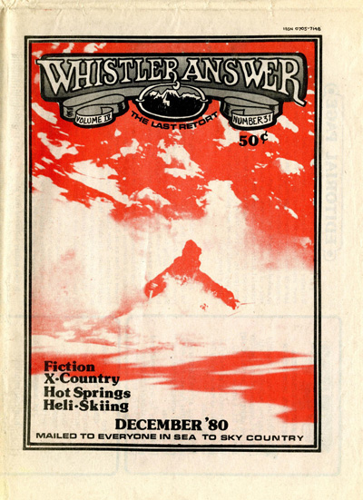 Whistler Answer Vol 4 No 31