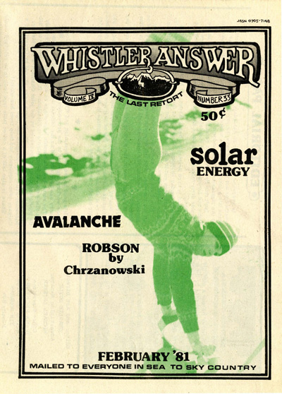 Whistler Answer Vol 4 No 33