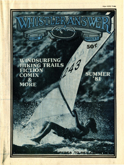 Whistler Answer Vol 5 No 36