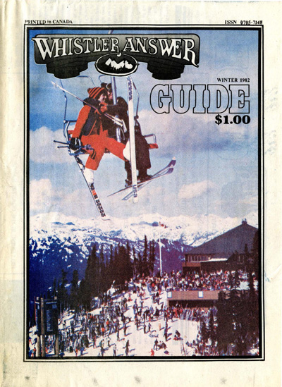 Whistler Answer Winter Guide 1982