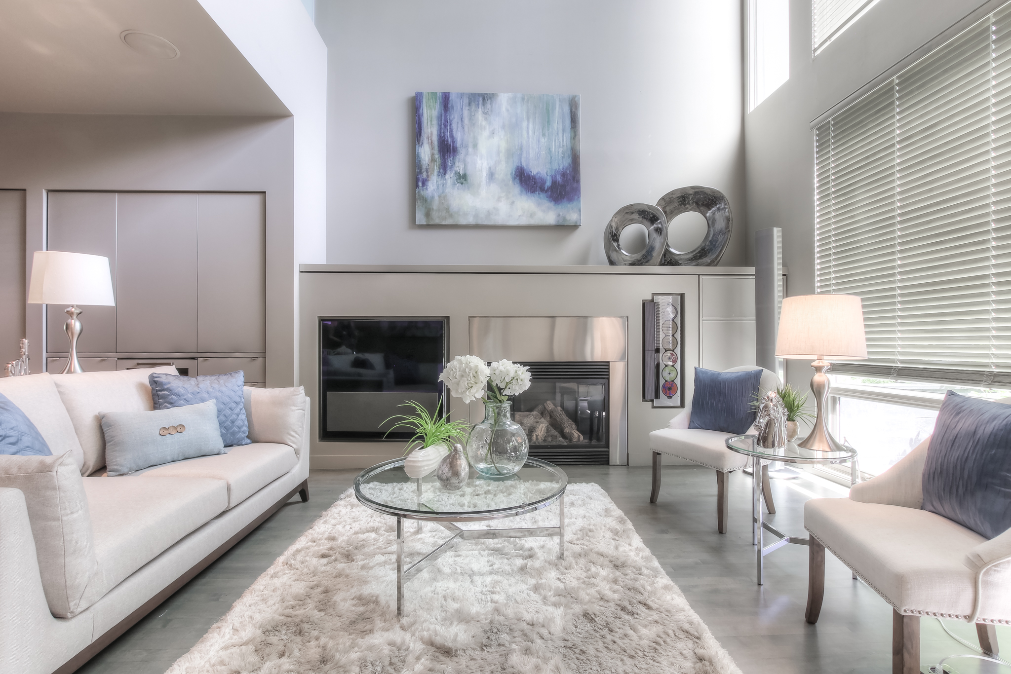 Cliff Bungalow Vacant Staging Calgary