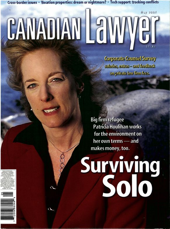 Canadian Laywer May 2005 - cover.JPG