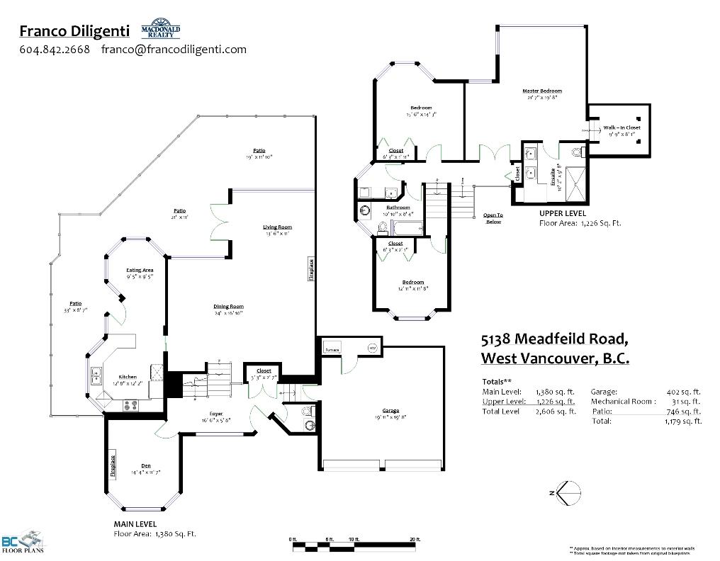 5138 Meadfeild Road Floor Plan