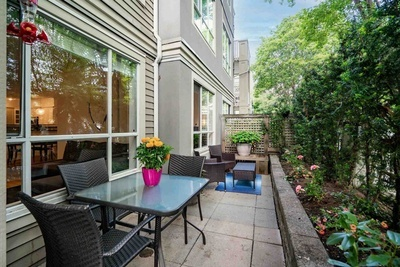 Kitsilano Townhouse for sale:  2 bedroom  (Listed 2021-07-22)