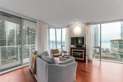 Coal Harbour Condo for sale:  2 bedroom 1,335 sq.ft. (Listed 2018-01-11)