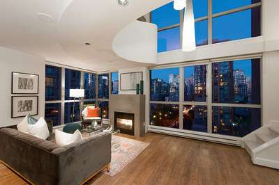 Yaletown Condo for sale:  1 bedroom 1,187 sq.ft. (Listed 2018-10-21)