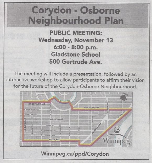 Corydon-Osborne Neighbourhood Plan