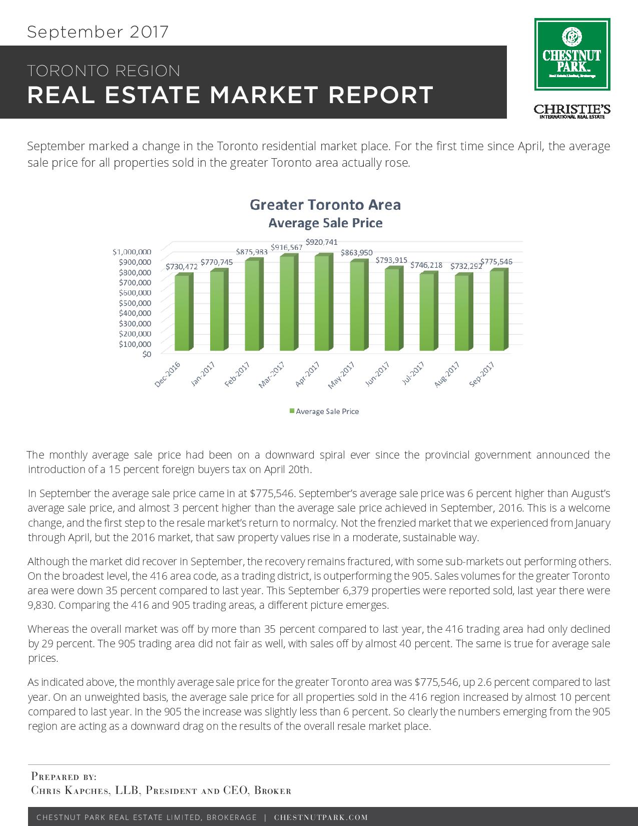 Toronto Real Estate Market Update Sep 2017 report jpg.jpg