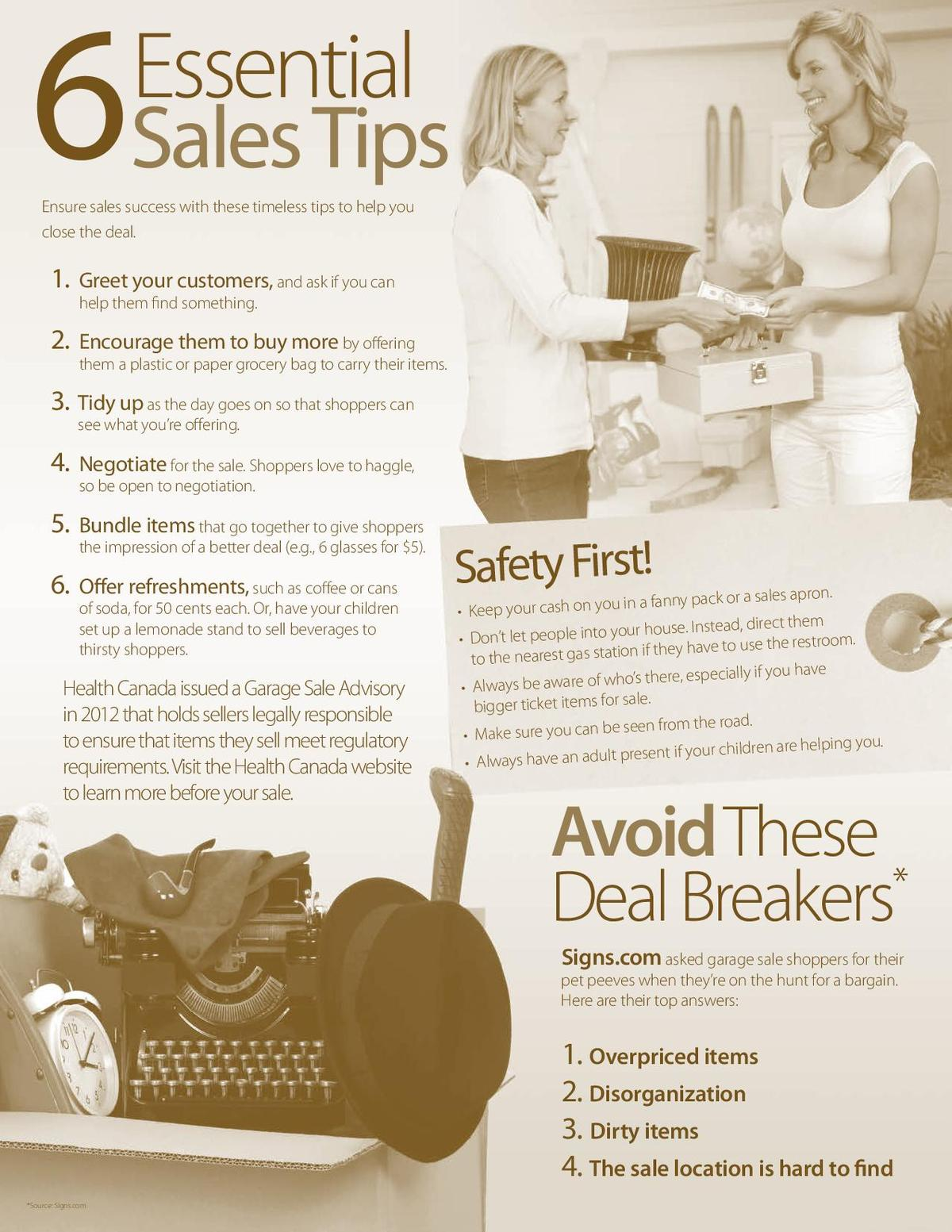 6 Essential Sales Tips
