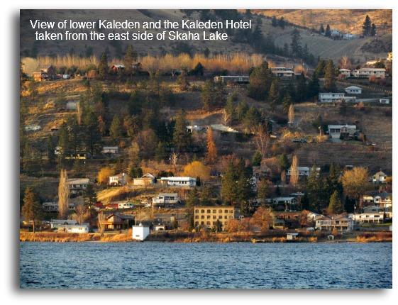 View of Kaleden