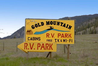 Gold RV park