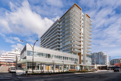 OCEAN VIEW Lower Lonsdale Condo for sale Promenade at the Quay