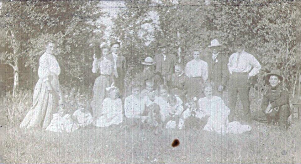 Boyce family in Miniota, Manitoba