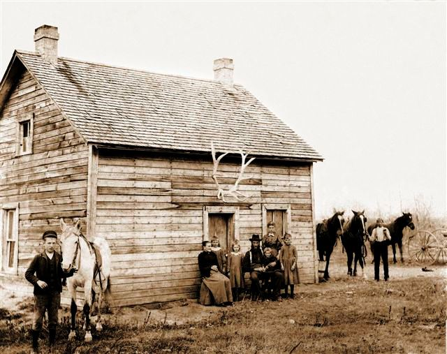 Boyce first Manitoba home, abt 1892