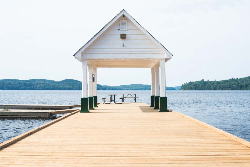 Lake of Bays waterfront