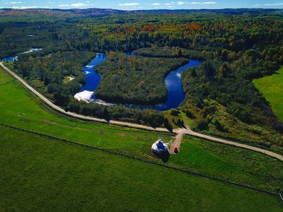 Mattawa Farm for sale: 461 acres on the Amable du ford River