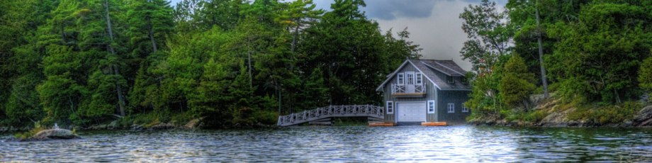 Cottage on Lake Muskoka