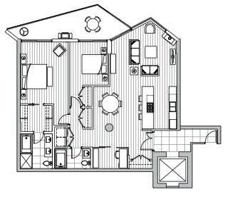 Private Residences - Plan C1