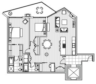 Private Residences - Plan C1