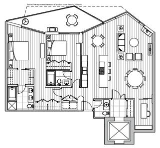 Private Residences - Plan D1