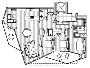 Private Residences - Plan E