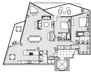 Private Residences - Plan E1
