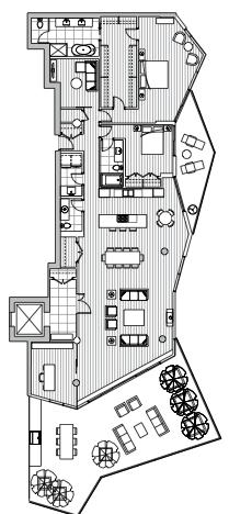 Estate Penthouse - Plan L