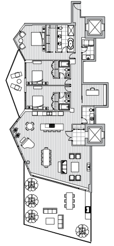 Estate Penthouse - Plan L3