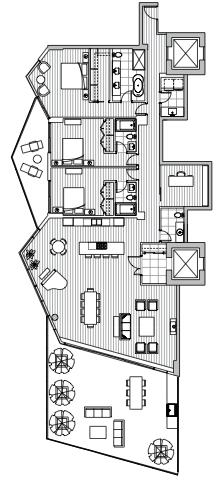 Estate Penthouse - Plan L3