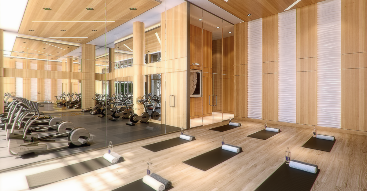 The Concord Yoga Room