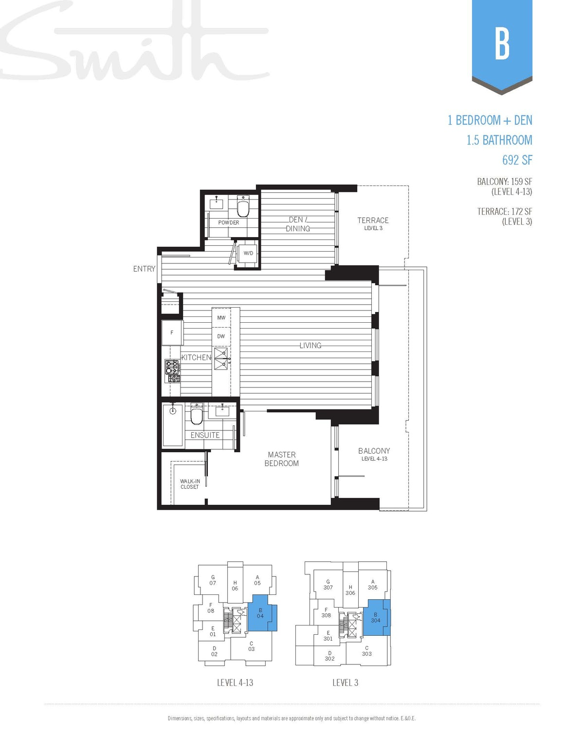 Smith Floorplan B