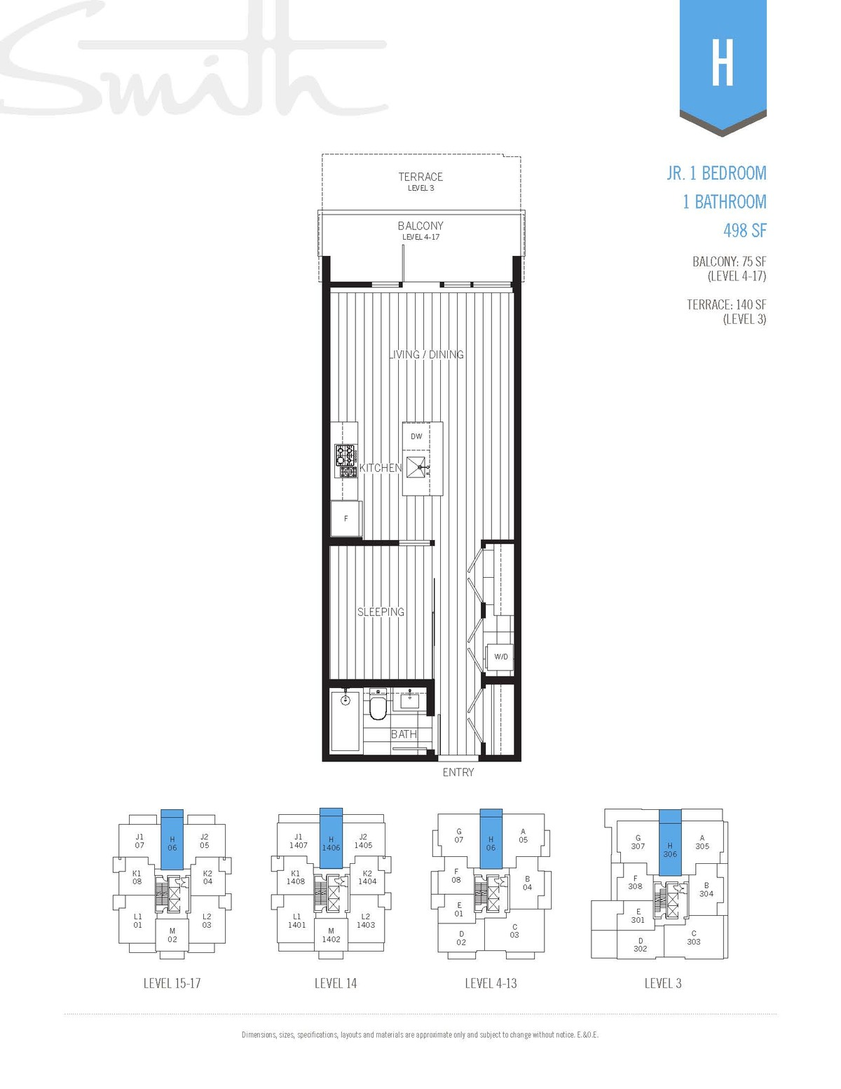 Smith Floorplan H