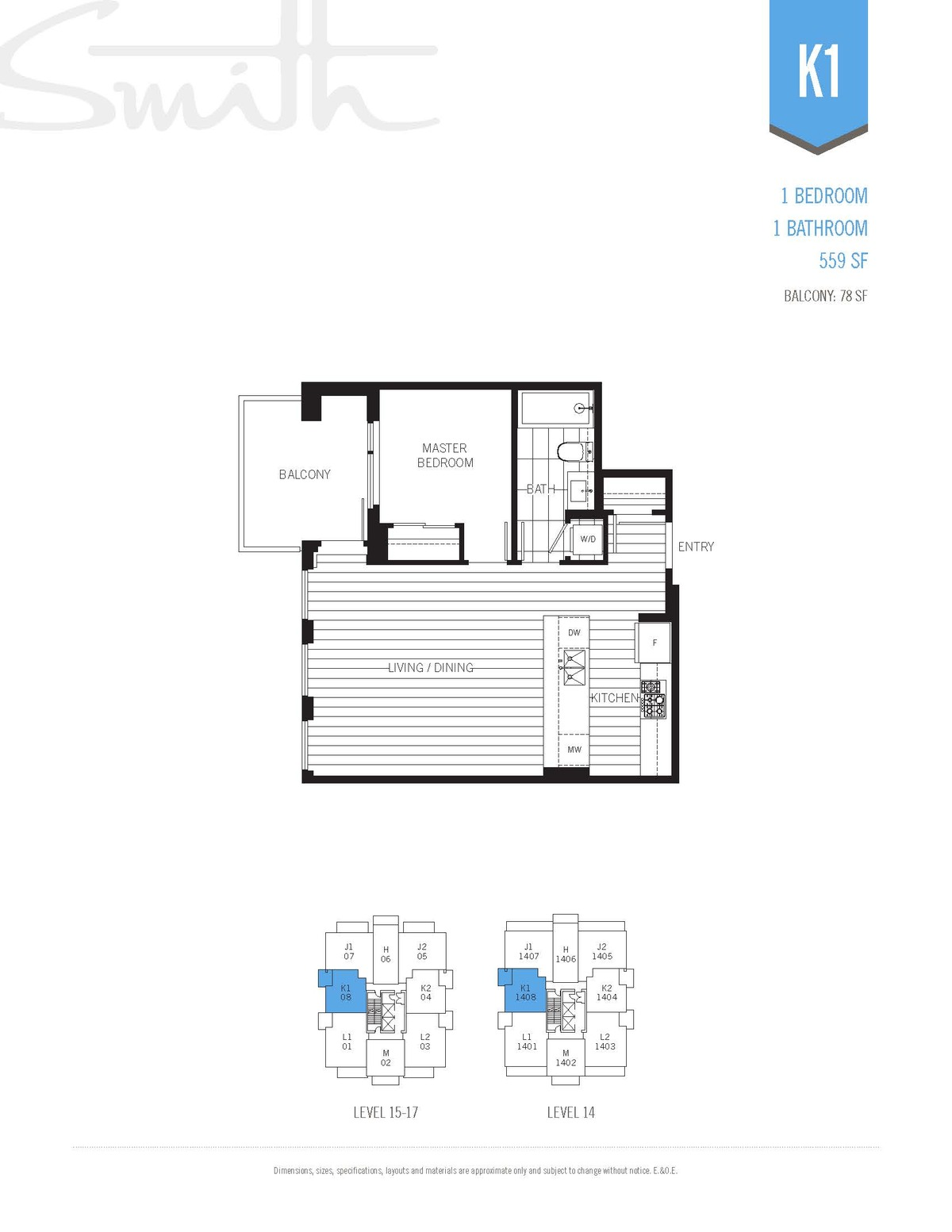 Smith Floorplan K1