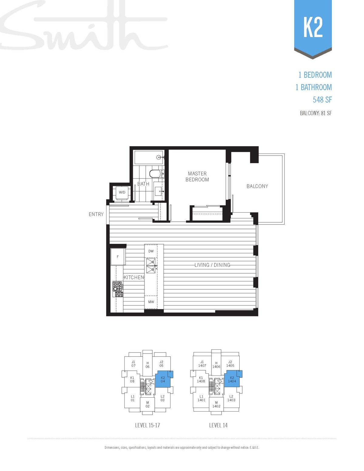 Smith Floorplan K2