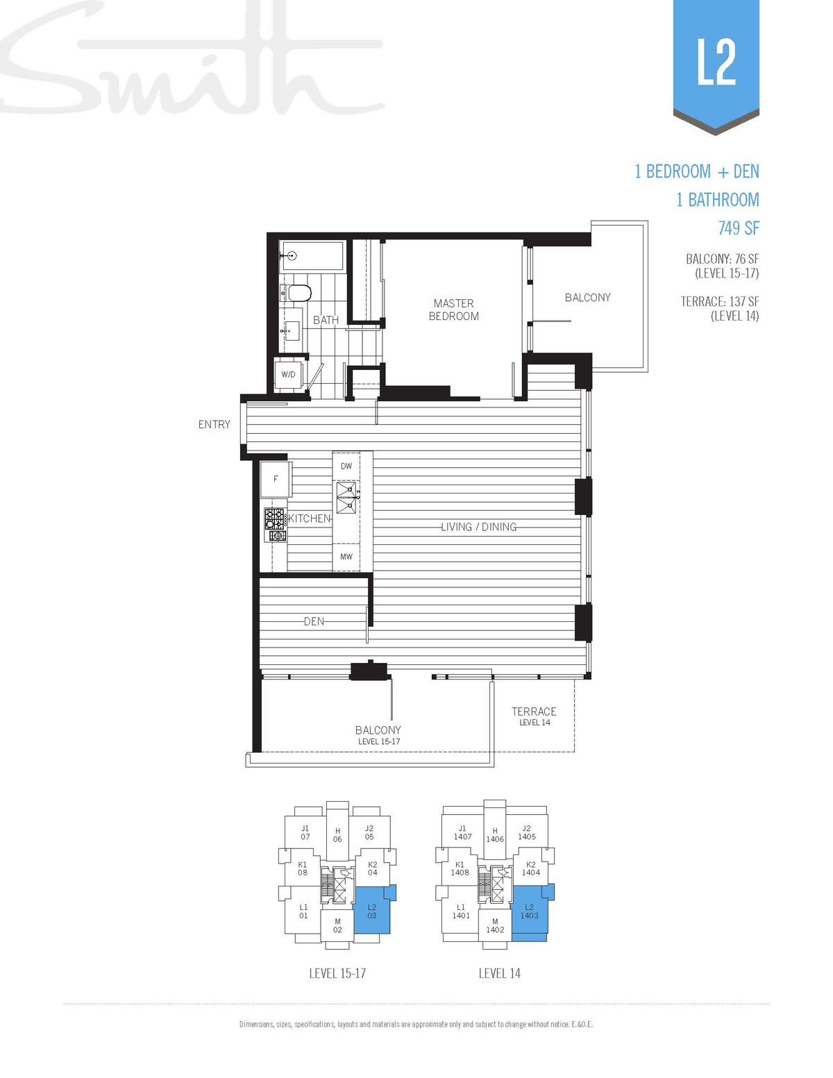 Smith Floorplan L2