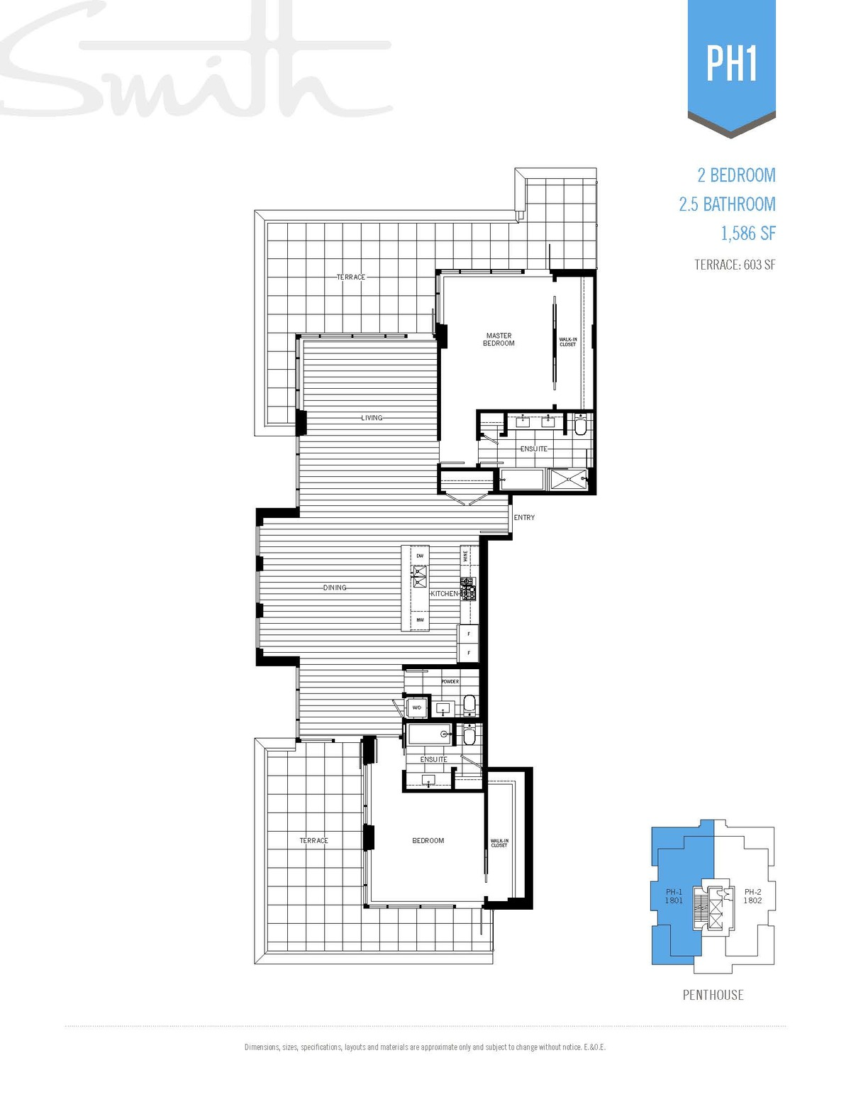 Smith Floorplan PH1