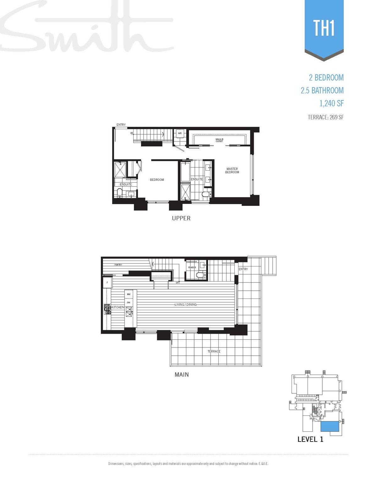 Smith Floorplan TH1