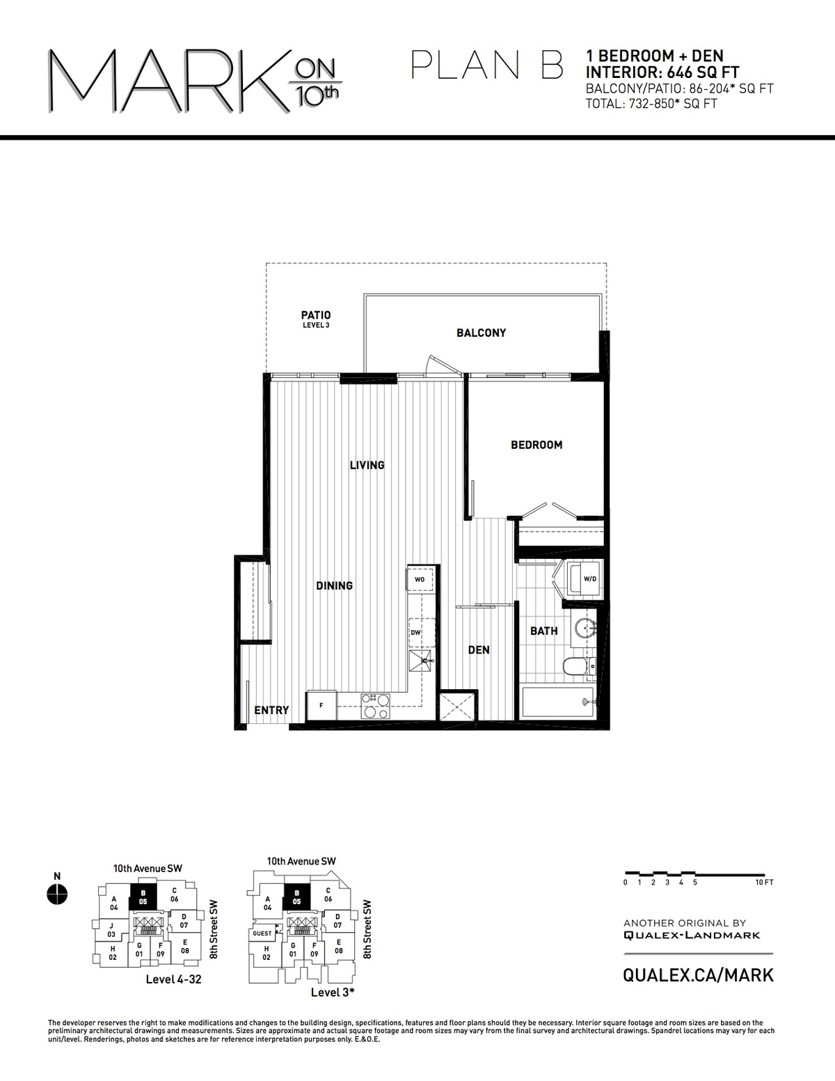 Mark Floorplan B