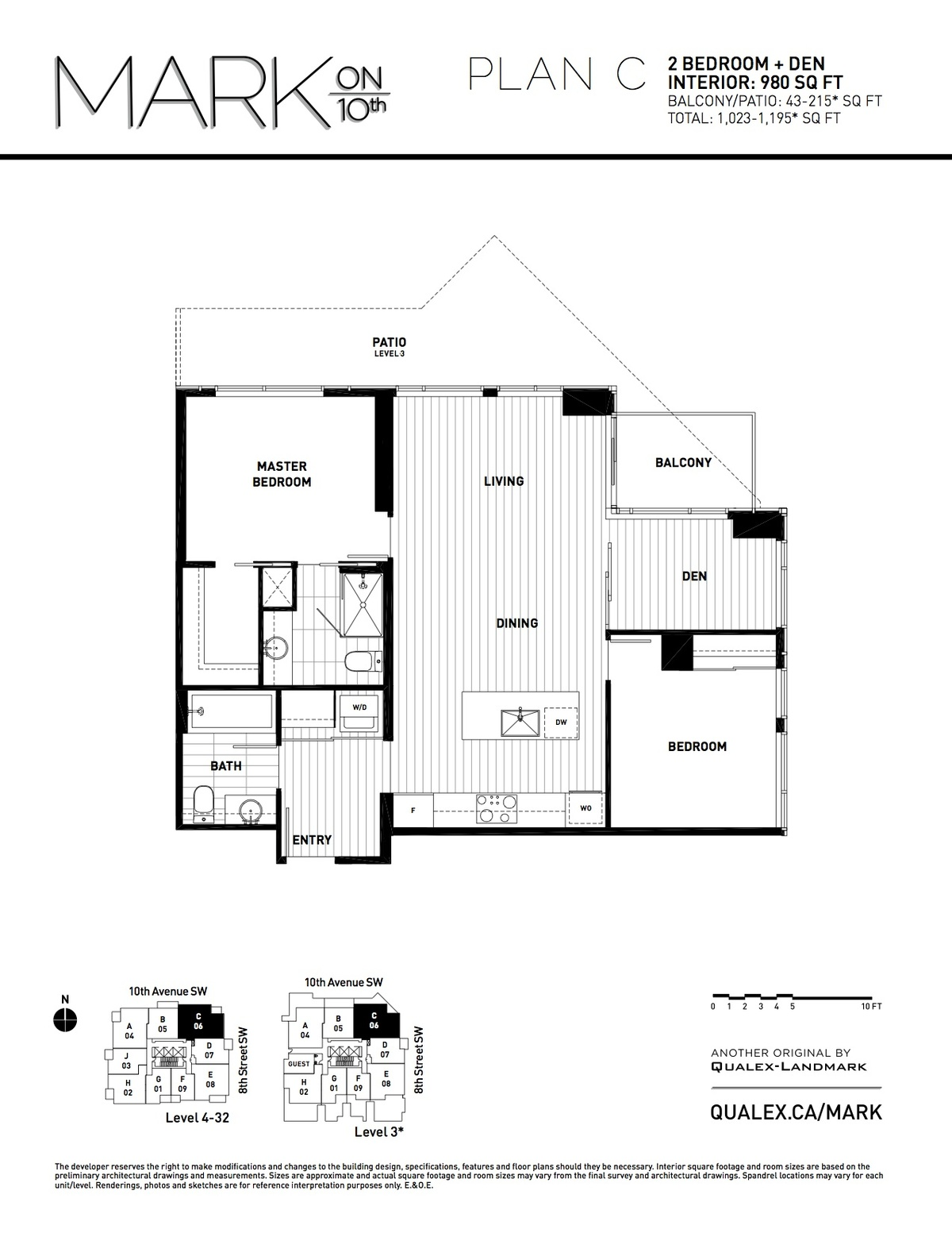 Mark Floorplan C
