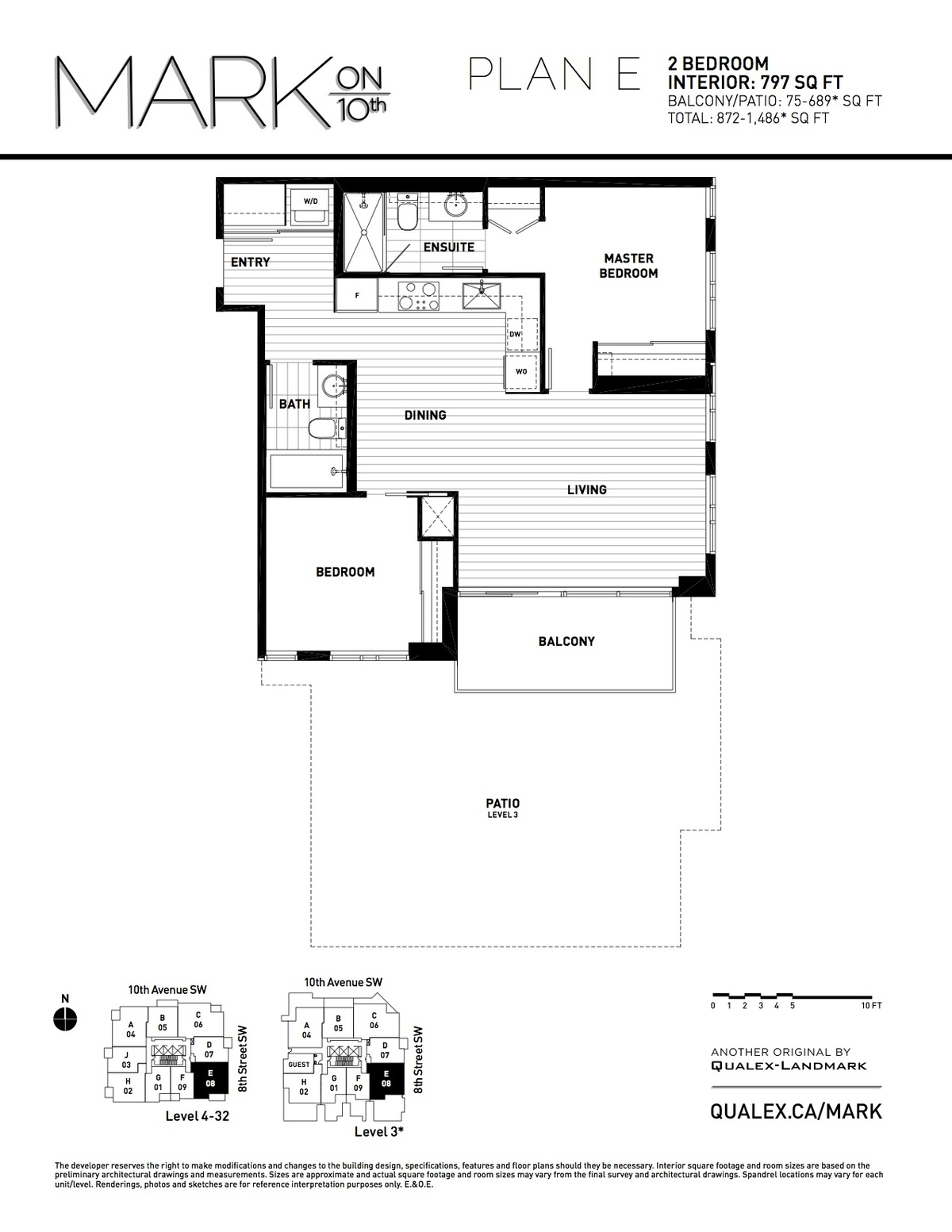 Mark Floorplan E