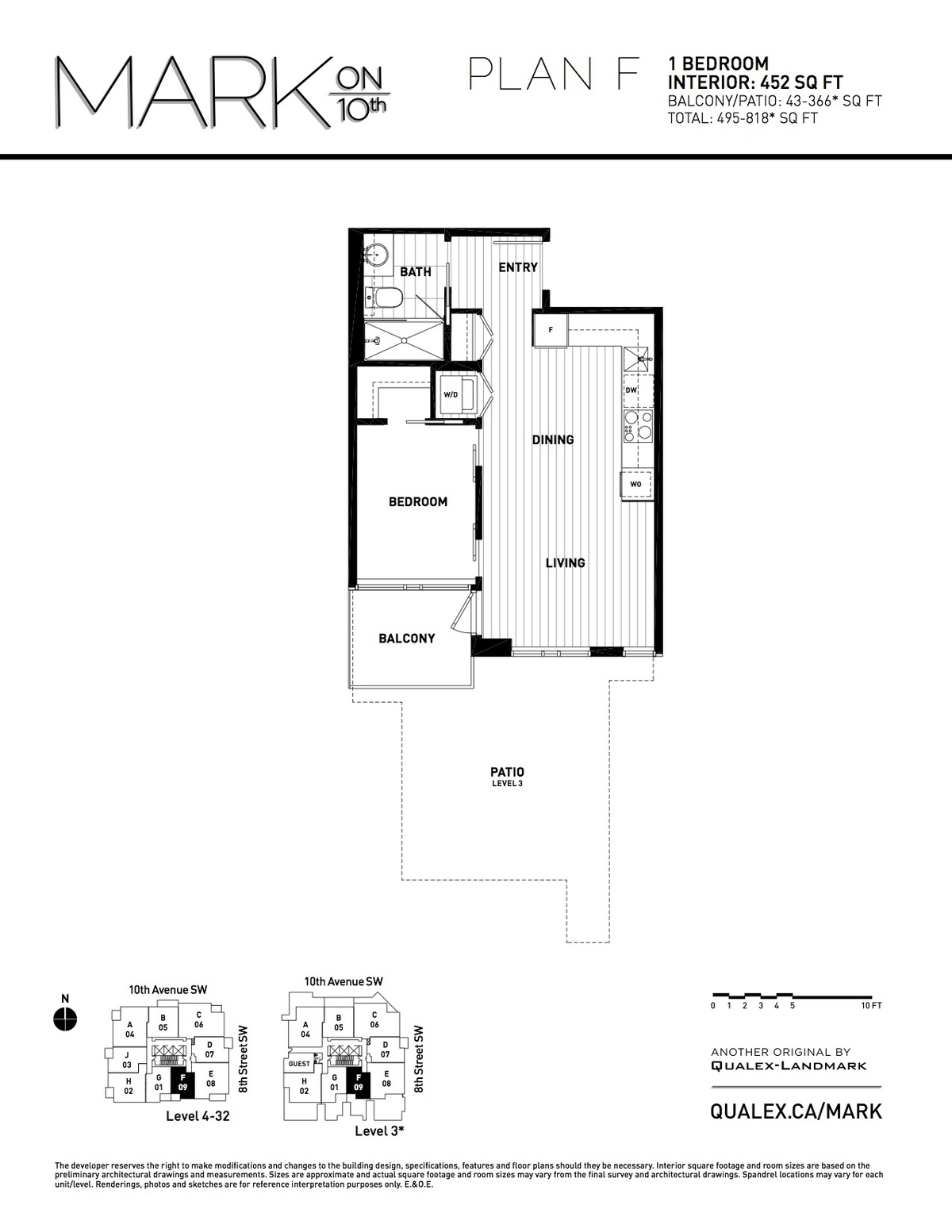 Mark Floorplan F
