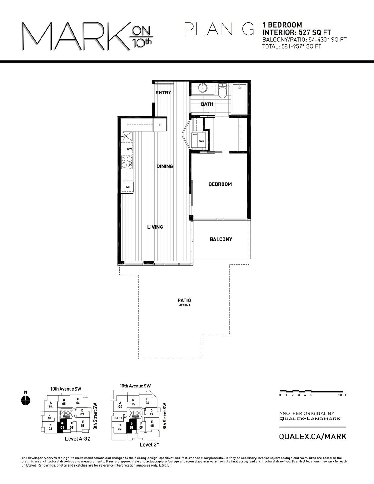 Mark Floorplan G