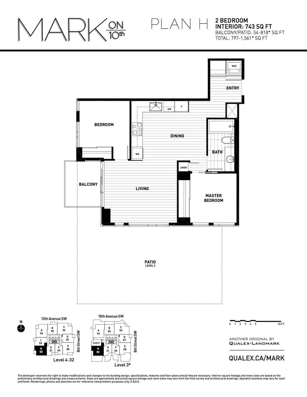 Mark Floorplan H