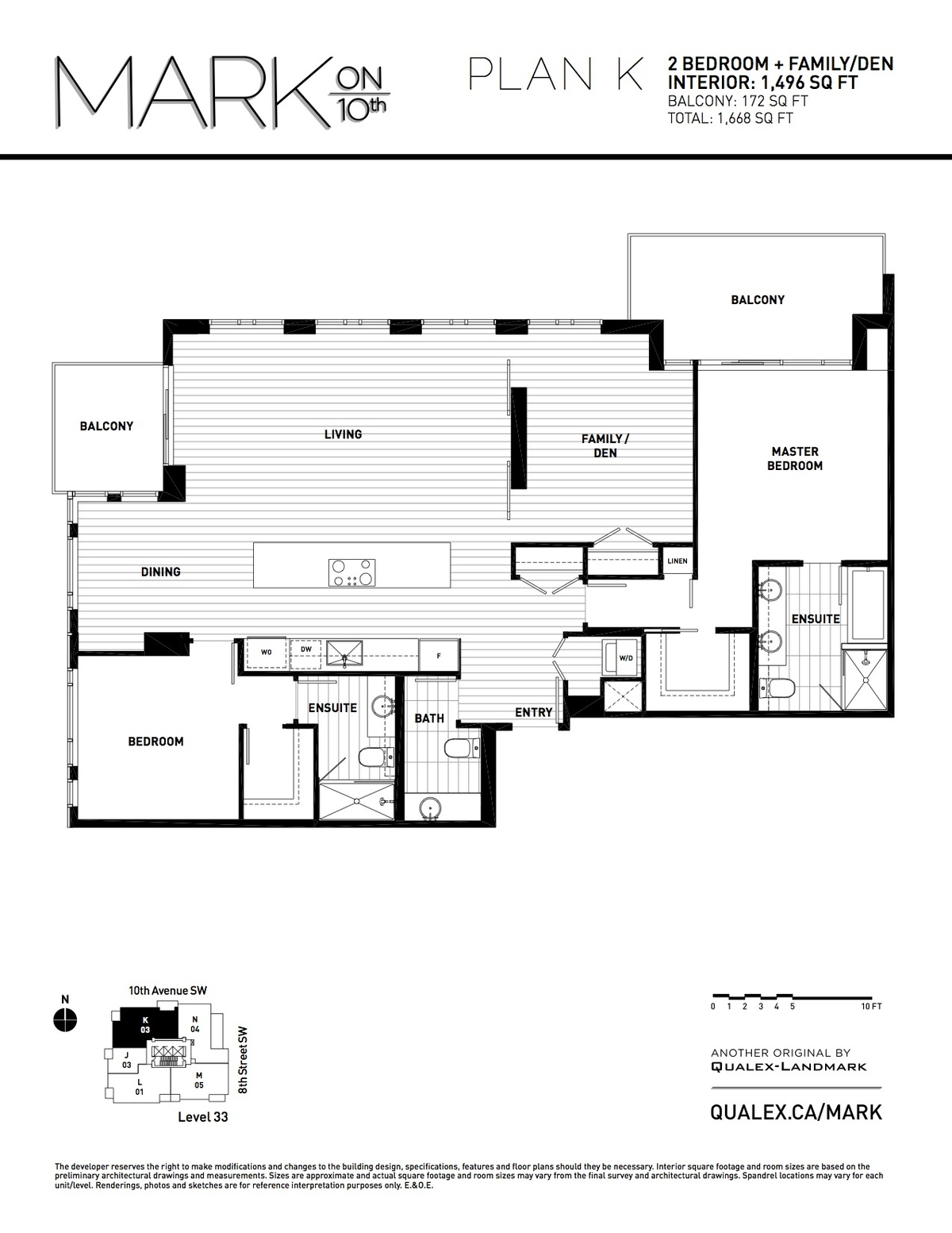 Mark Floorplan K