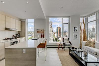 Calgary Condo for sale: Smith 1 bedroom Amazing city views