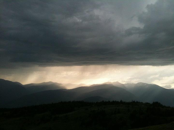 Up Mt. Kobau