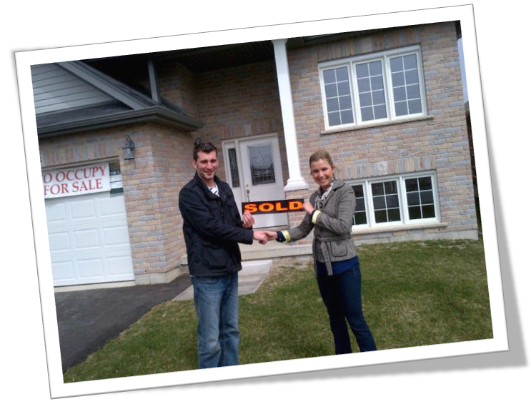 pic with Steve C holding sold sign