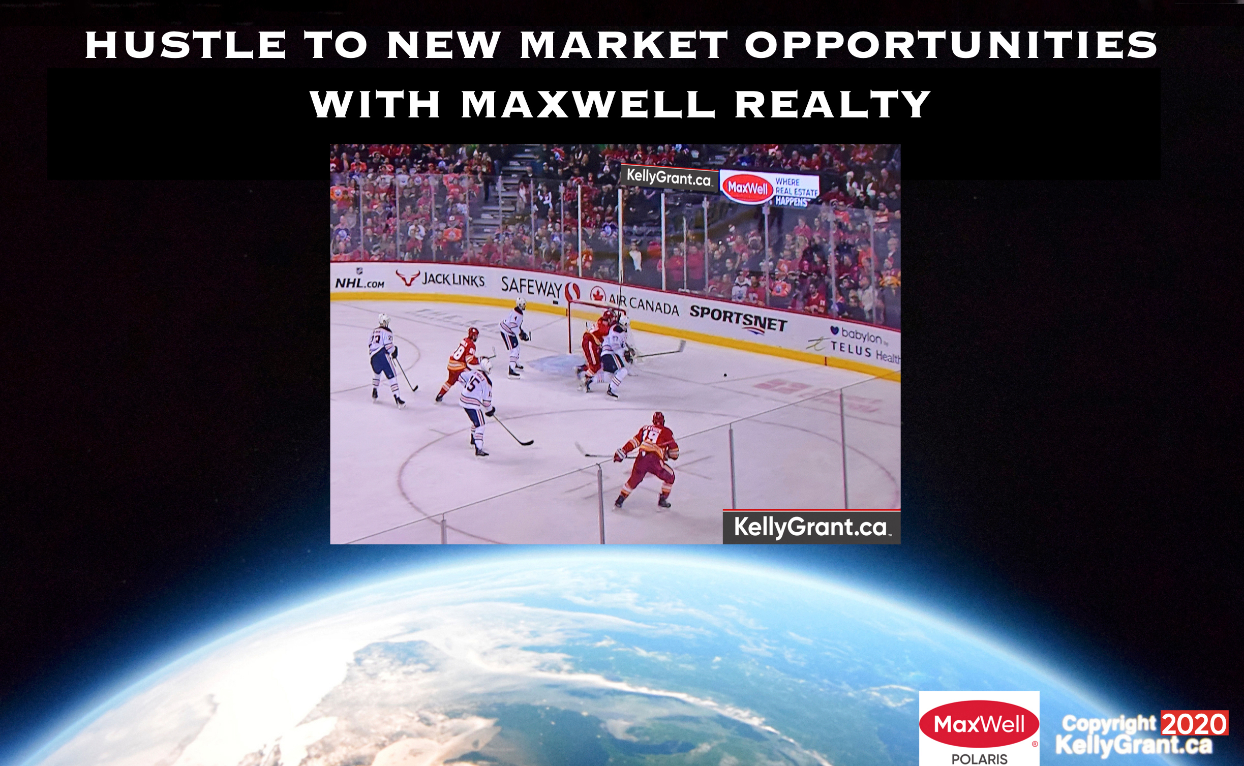 Kelly Grant Hustle to New Market Opportunities with MaxWell Realty