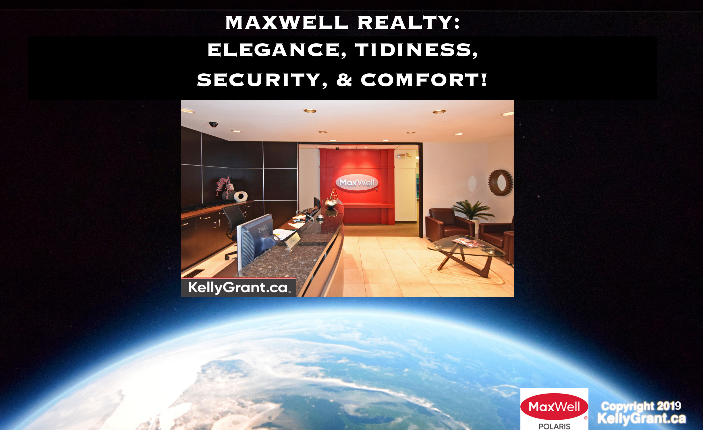 MaxWell Realty: Elegance Tidiness Security and Comfort