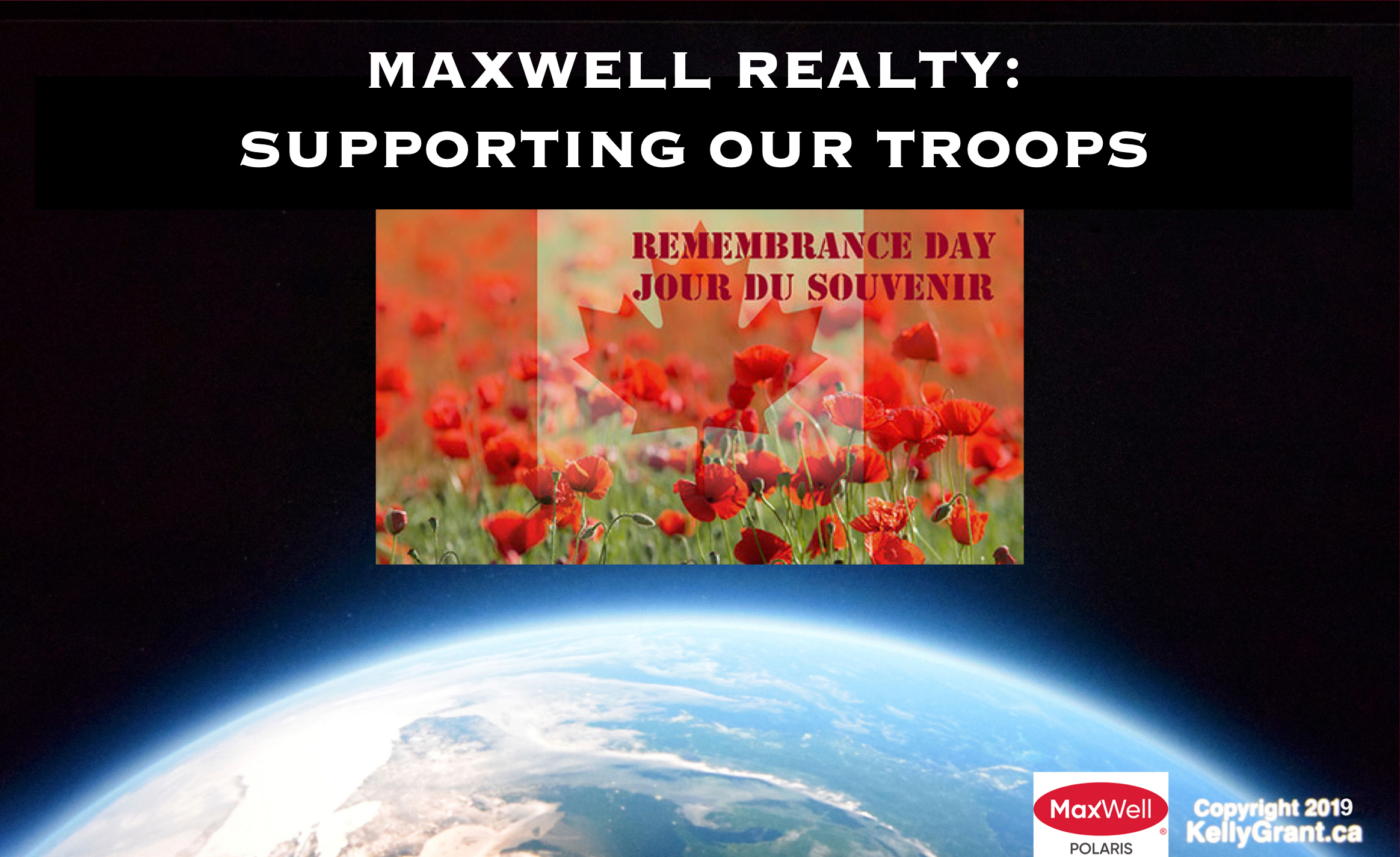 Kelly Grant MaxWell Supporting our Troops